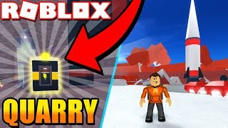 Visiting EVERY Planet! / How to Unlock the Quarry! (Space Mining Tycoon) #2