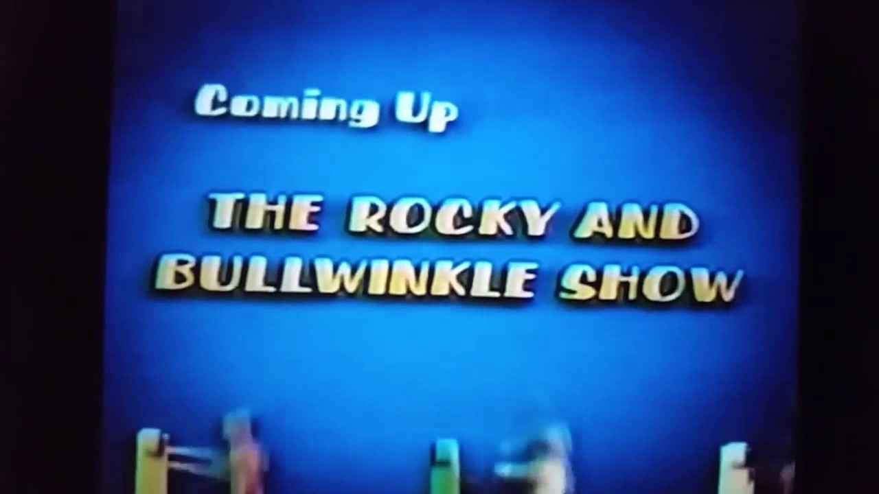 (RARE) Boomerang (USA): The Rocky And Bullwinkle Show