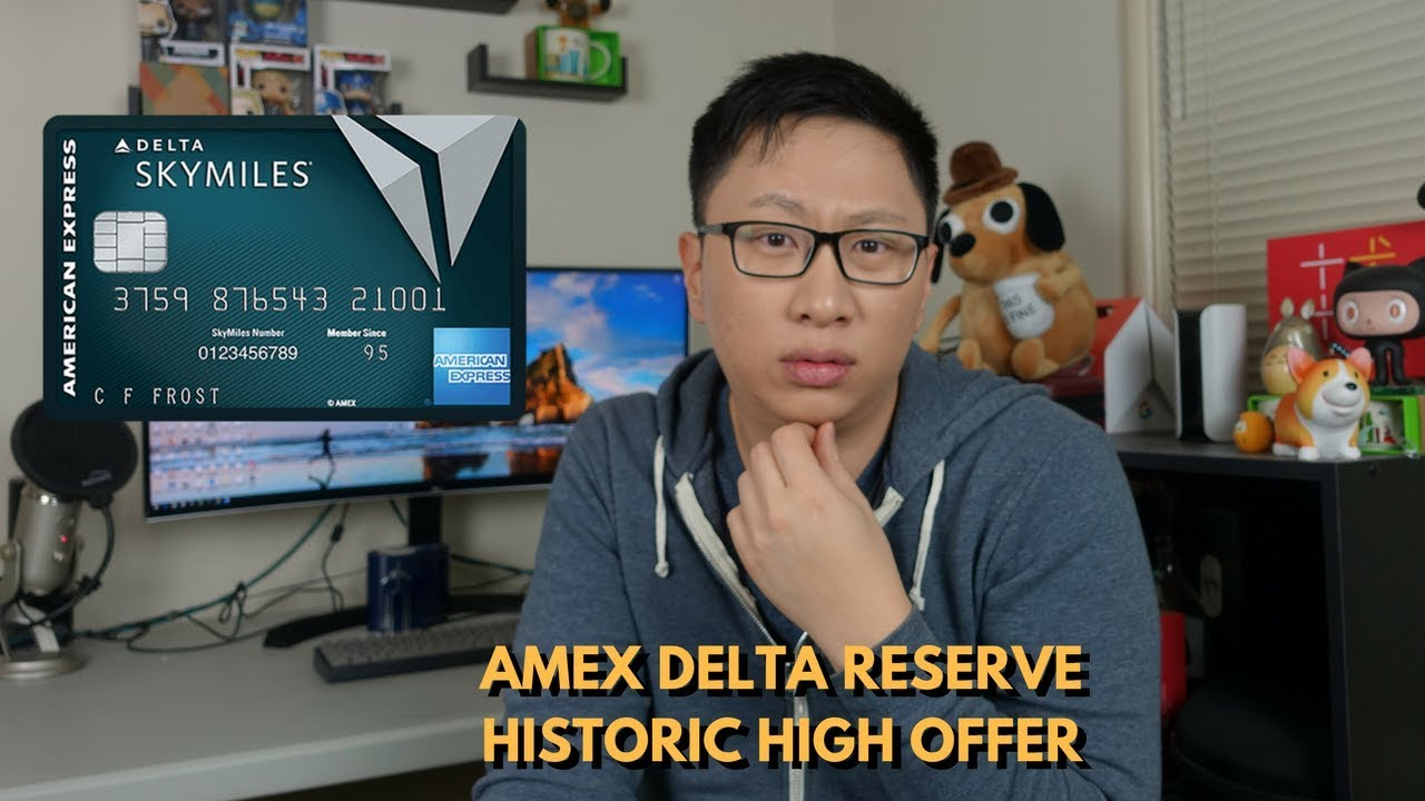 Amex Delta Reserve Historic High Offer & Alternatives - YouTube