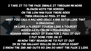 "Wiz Khalifa & Snoop Dogg- ""French Inhale"" (LYRICS ON SCREEN) YScRoll"