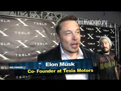 Malin Akerman attends Tesla Design Studio Event