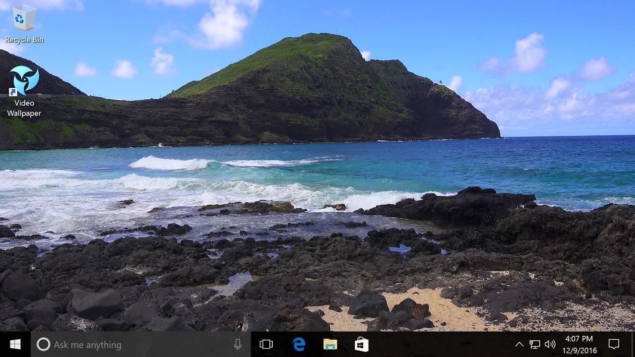 Push Video Wallpaper For Windows 1087