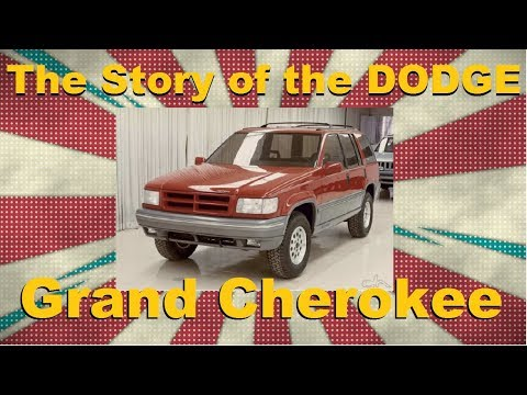 The Grand Cherokee was almost a Dodge vehicle instead of a Jeep?