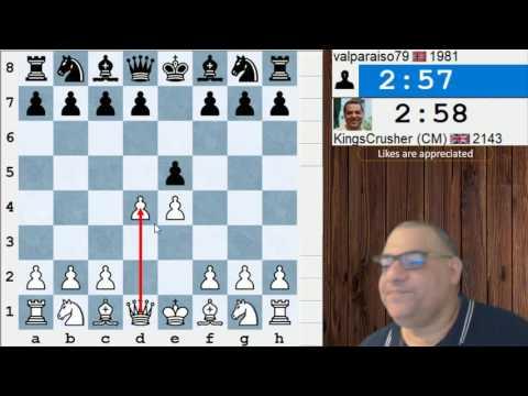 ICC Kingscrusher Banter Blitz -7th July 2017 - Sponsored by the Internet Chess Club (ICC) HD