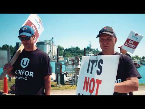 Support striking miners at Compass Mine in Goderich