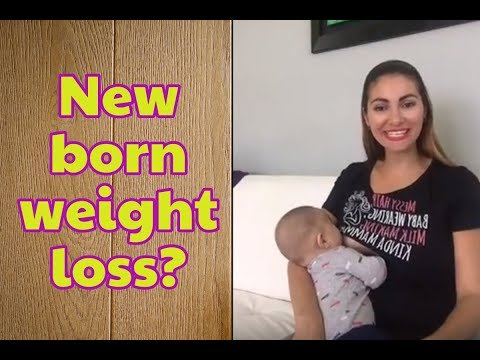 How much attention should you pay to new born weight loss 👶🏻🍼?