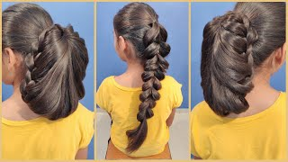 2 Beautiful Braid & Braided Bun Hairstyles for wedding and Party