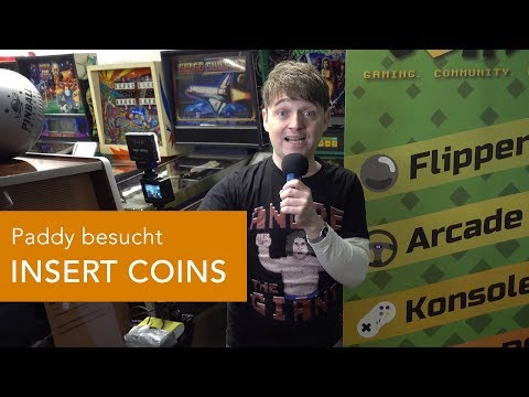 Retro-PCs, Konsolen & Co: PADDY besucht INSERT COINS