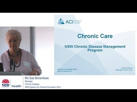 NSW Chronic Disease Management Program - Master Class