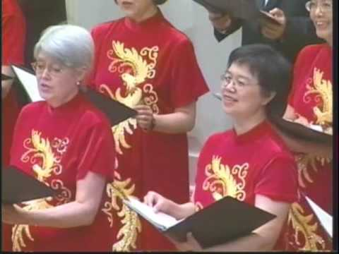 The Moon Represent My Heart (月亮代表我的心) By Dallas Chinese Choral Society.