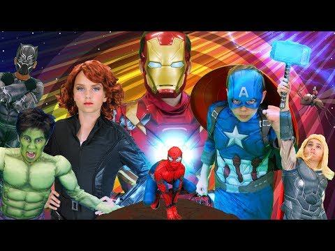 The Avengers Finger Family | The Finger Family Song | Sillypop