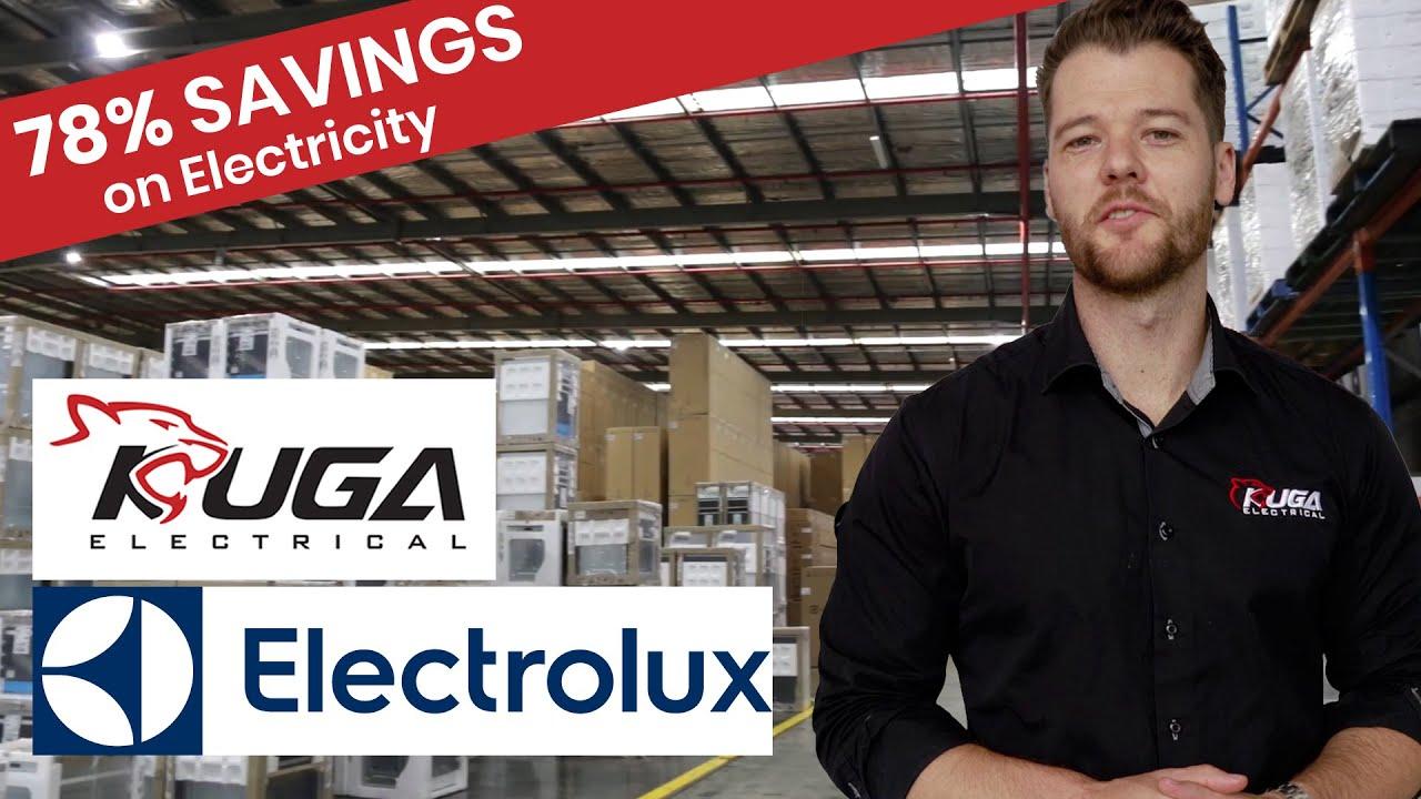Electrolux Saves 78 On Lighting Bill