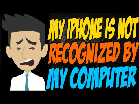 iphone not recognized my iphone is not recognized by my computer 12087