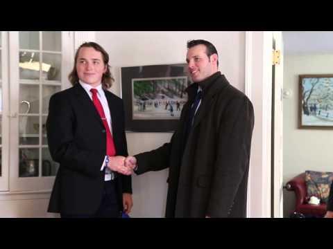 Selects Academy at South Kent Hockey Signing 2013