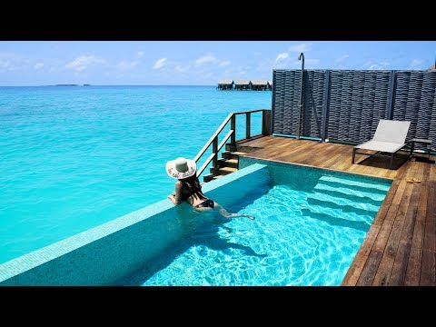 Inside a Water Pool Villa, Kuramathi, Maldives