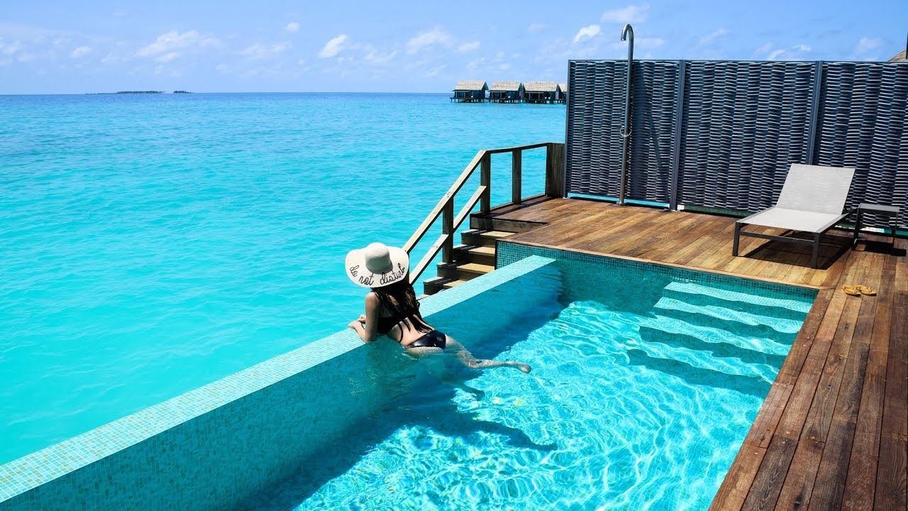 Luxury Pool Villas Maldives: Inside A Water Pool Villa, Kuramathi, Maldives
