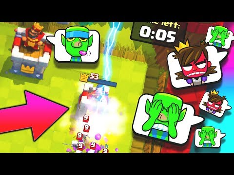 HUGE LIGHTNING FAIL!? Clash Royale New ROYAL HOGS GIANT SNOWBALL Challenge Update!