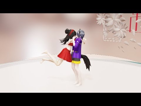 {MMD} [Stick Together] Aphmau and Aaron