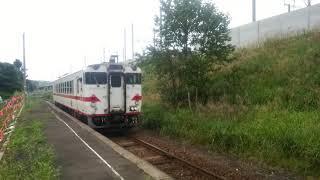 【週末動画】津軽二股を発車する三厩行【2019-54】 ⭕️お願い⭕️週末動画に関するアンケートがあります。ご回答よろしくお願いします