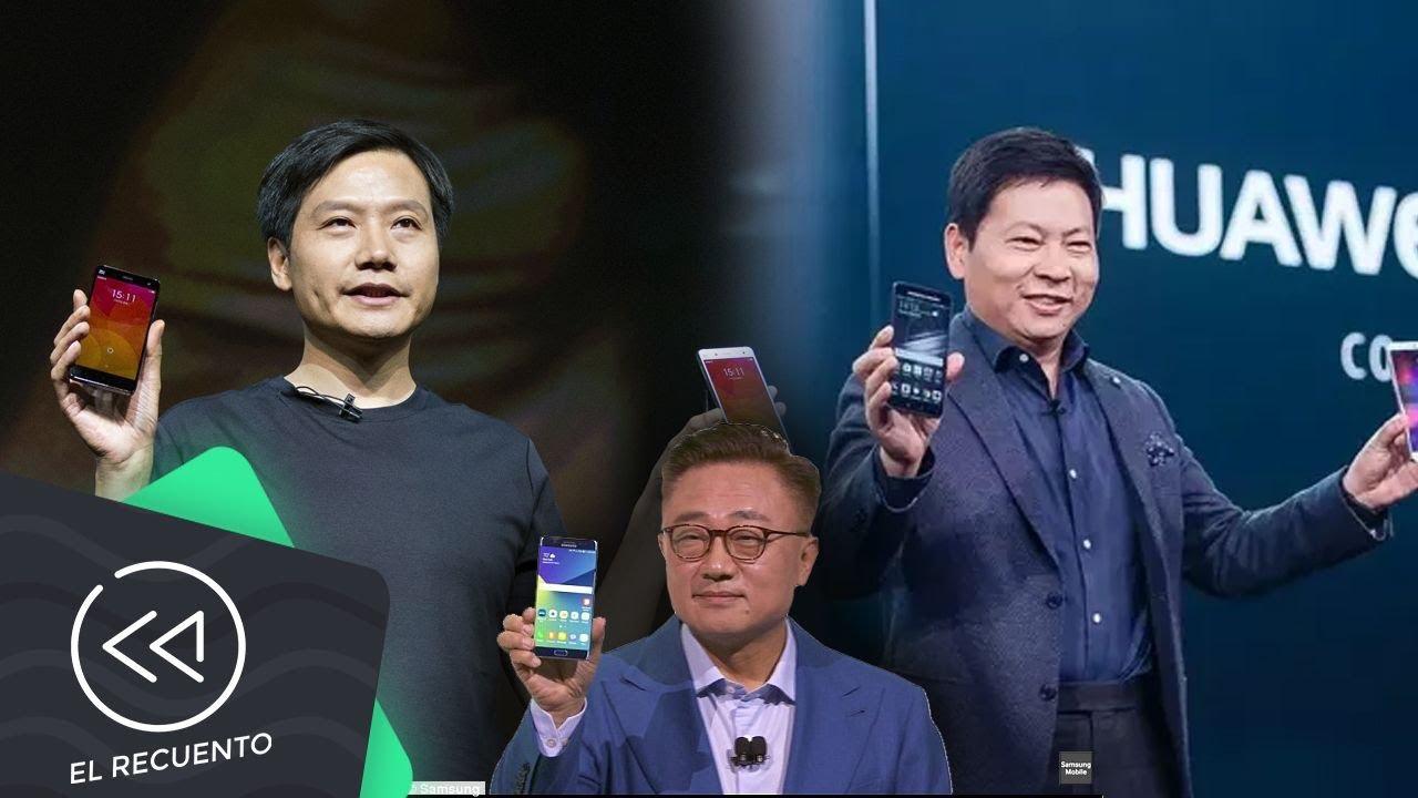 Huawei y Xiaomi están por superar a Samsung | El recuento