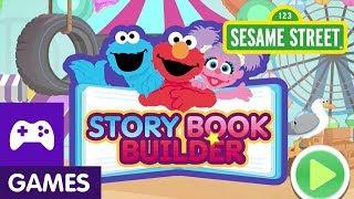 Sesame Street: Story Book Builder | Game Video