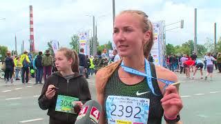 Светлана Куделич победила в Брестском полумарафоне (Спорт центр  Эфир 24 июня 2018)