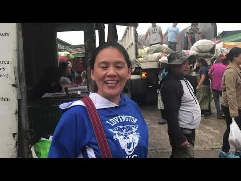 Vegetable Trading Post In La Trinidad,Benguet,Philippines(Vlg88)
