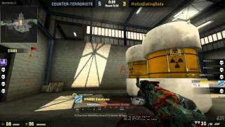 CS:GO Full Competitive Gameplay On Nuke