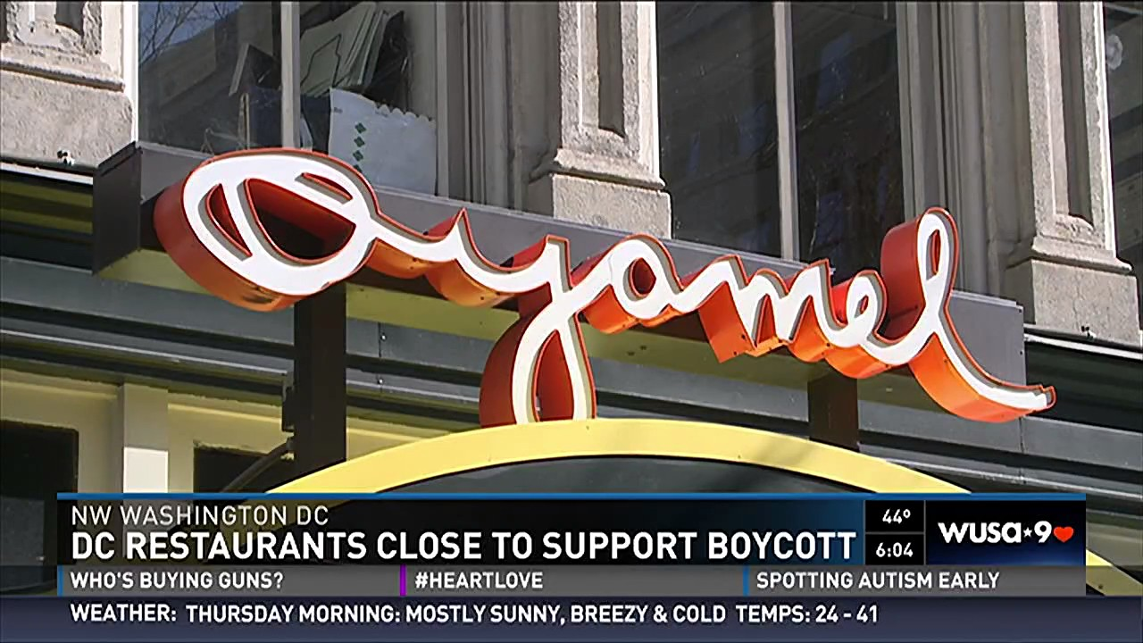Dc Restaurants Close To Support Day Without Immigrants