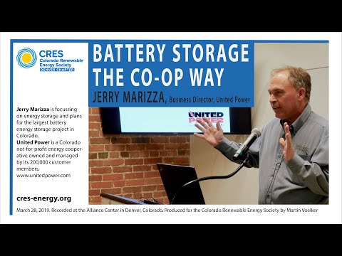 Battery Storage The Co-op Way