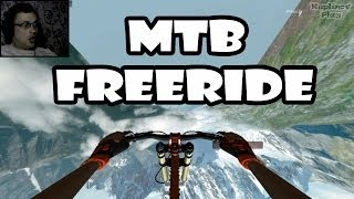 MTB Freeride Прохождение ► В космос на велосипеде! ► ВЫНОС МОЗГА