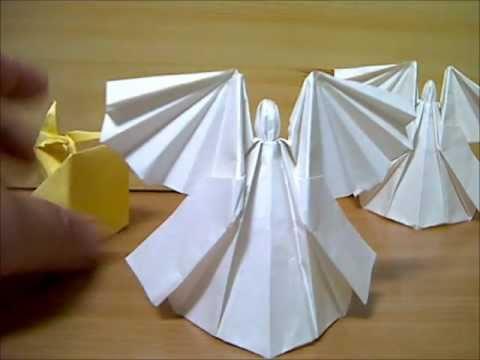 ハート 折り紙 折り紙 天使 折り方 : youtube.com