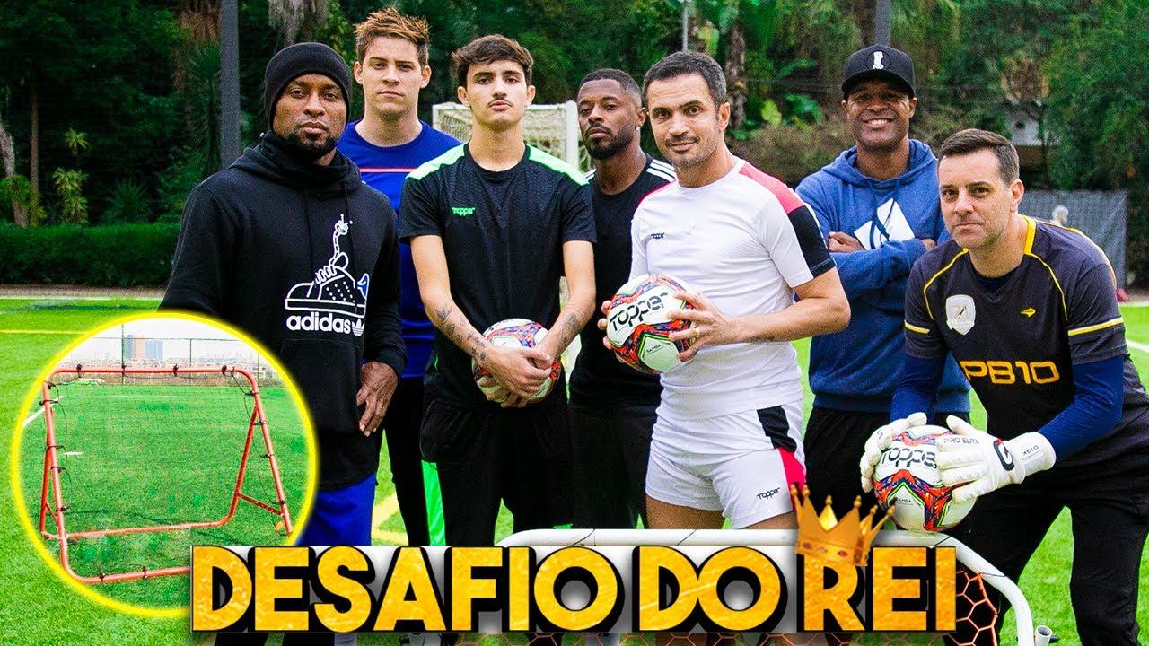 Quem é melhor no rebatedor? feat Zé Roberto, Michel Bastos e Marcos Assunção