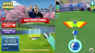 Golf Clash tips, Hole 7 - Par 4, Maple Bay -  Winter Major Tournament - ROOKIE Guide