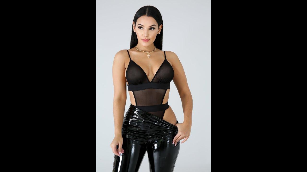 Black Bodysuit Set-Jahvysams21
