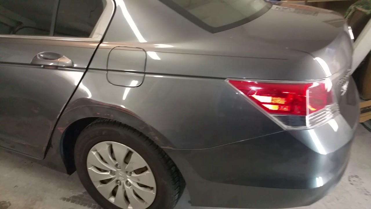 2008 Honda Accord Quarter Panel Repair