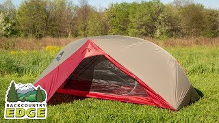 Msr Carbon Reflex 1 3 Season Backpacking Tent Youtube