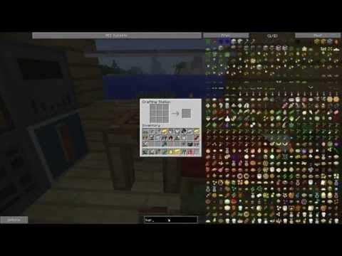 FTB Infinity - E2 - Electric Boat, Tree Farm & The Ender (sword)