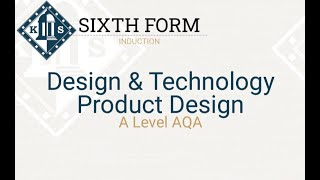 A Level Product Design Induction Session