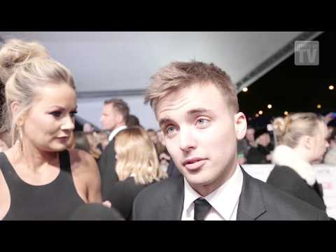 Hollyoaks' Parry Glasspool: 'It's a bit overwhelming!'