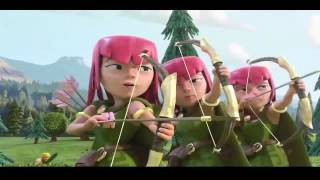 Nueva Pelicula/Trailer de Clash Royale Clash of Clans