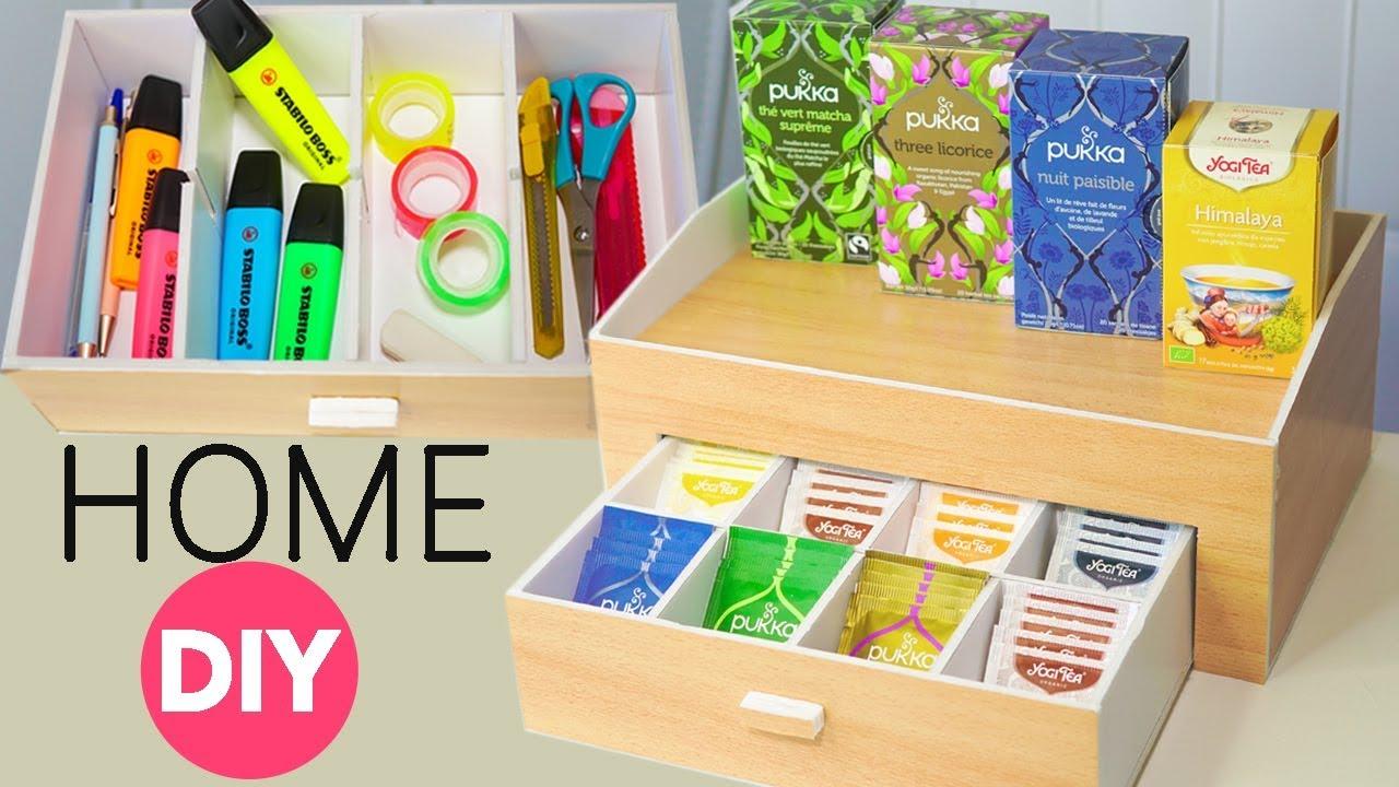 Come costruire scatola t e tisane idee cucina fai da te youtube - Porta tisane fai da te ...