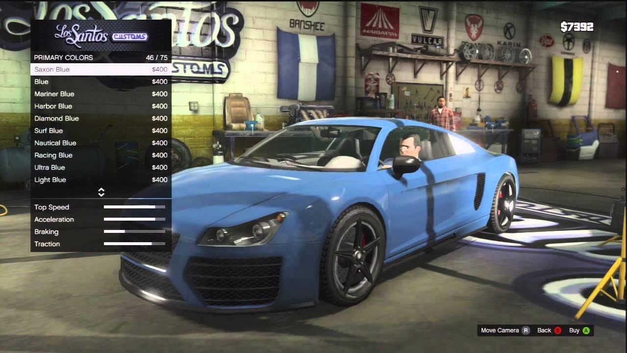 """CUSTOMIZING THE """"AUDI R8"""" IN GTA 5! SICK CUSTOM! - YouTube"""