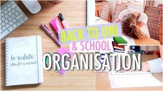 BACK 2 UNI & SCHOOL: Meine Organisations-Tipps