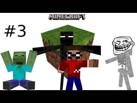 Let's Play Minecraft #3 Mining Tour der 1000 Gefahren