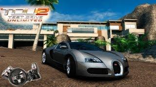 TDU2 - 400 km/h no bugatti veyron  + casa nova!!!