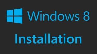 Windows 8 - Installation