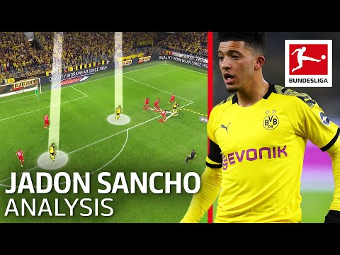 Jadon Sancho Analysis - The Sancho Effect