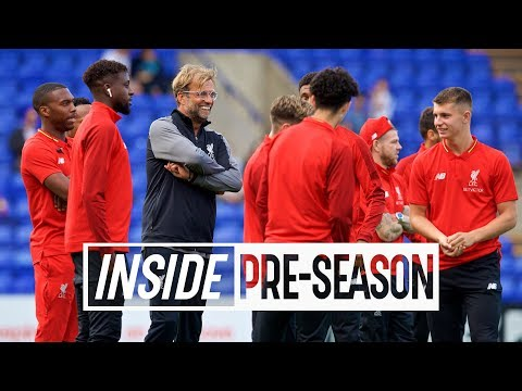 Inside Pre-Season: Tranmere 2-3 Liverpool | Exclusive behind-the-scenes tunnel cam