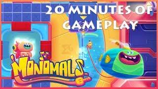 Apple Arcade :: Monomals Gameplay on iOS